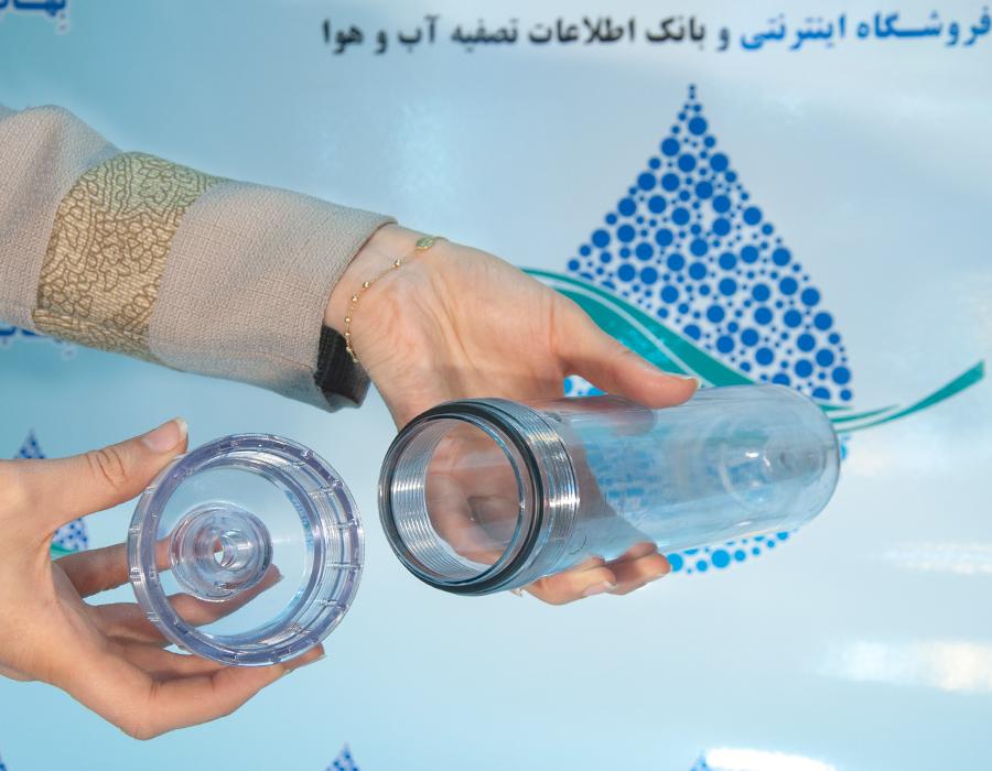 3 Stage Water Filter System With PP Carbon Ceramic Water Filter  آموزش ساخت دستگاه تصفیه آب ۳ مرحله ای