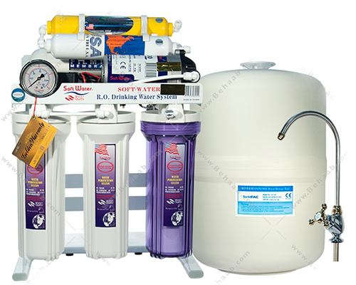 6Stage Water Purification SoftWater Original دستگاه تصفیه آب سافت واتر اورجینال