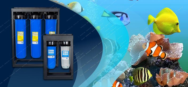 Aquarium Water Pre Filtration System پیش تصفیه و سختی گیر آب آکواریوم