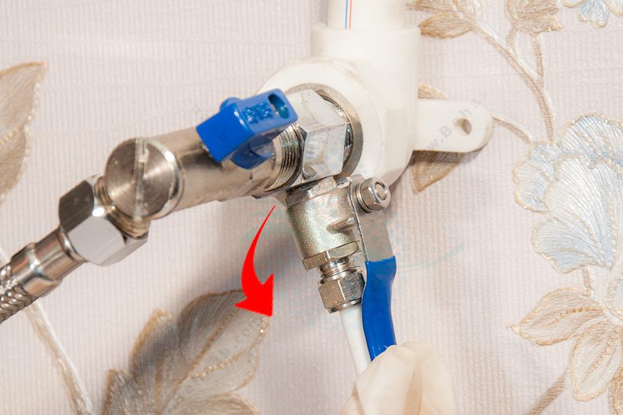 Water Purifier Inlet Valve شیر آب ورودی دستگاه تصفیه آب
