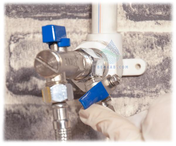 Water Purifier Inlet Valve شیر ورودی آب دستگاه تصفیه آب
