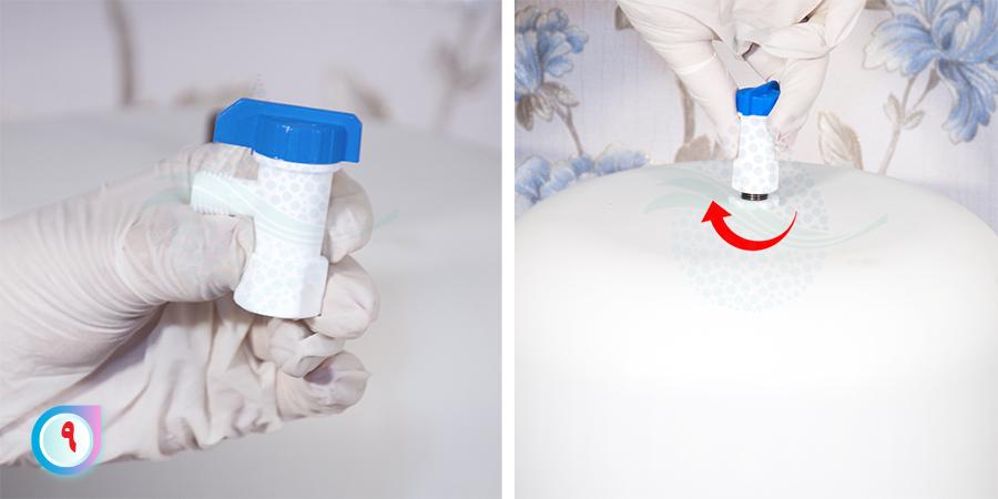 Ball Valves for Reverse Osmosis Tanks شیر مخزن تصفیه آب
