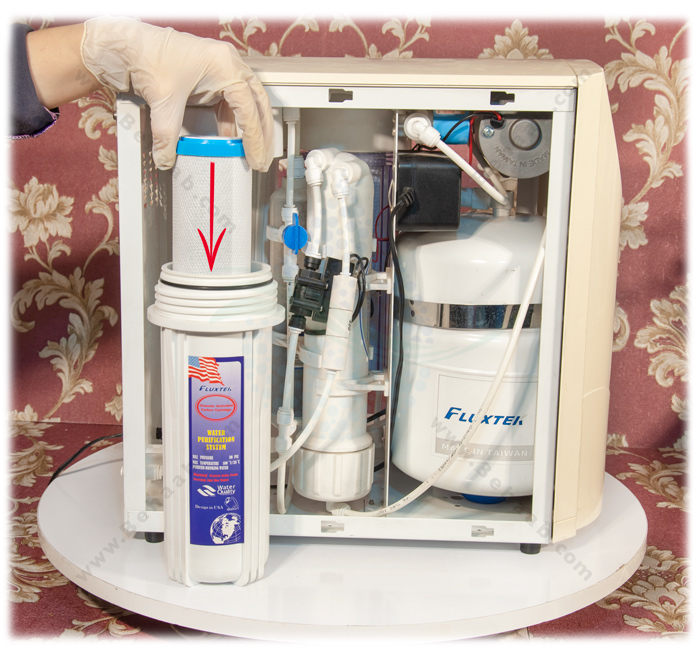 Carbon Block CTO Water Filter Cartridge  آموزش نصب فیلتر کربن بلاک تصفیه آب خانگی