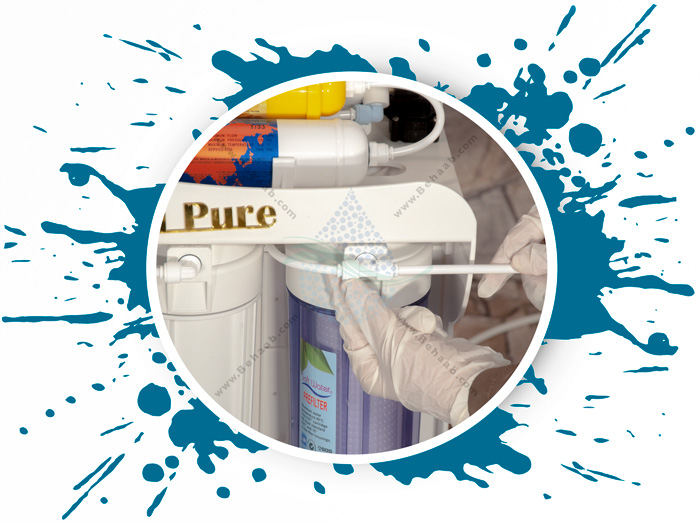 Clean Pure 6 Stage Reverse Osmosis Water Filter System نصب آسان دستگاه تصفیه آب خانگی کلین پیورر