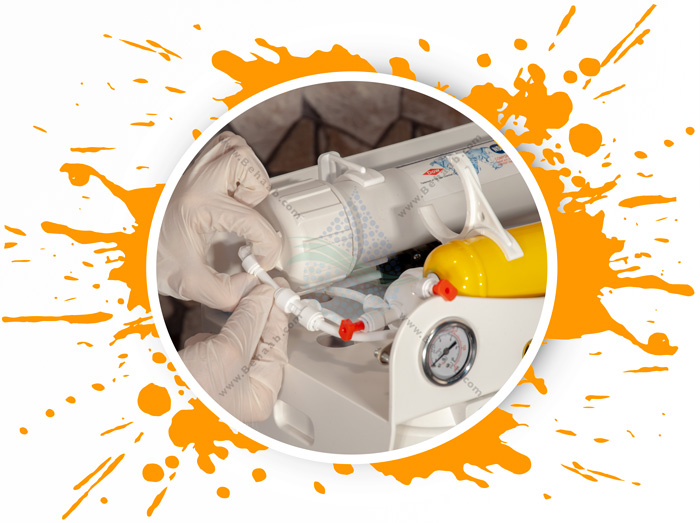Clean Pure 6 Stage Reverse Osmosis Water Filter System آموزش راحت و سریع دستگاه اسمز خانگی کلین پیورر