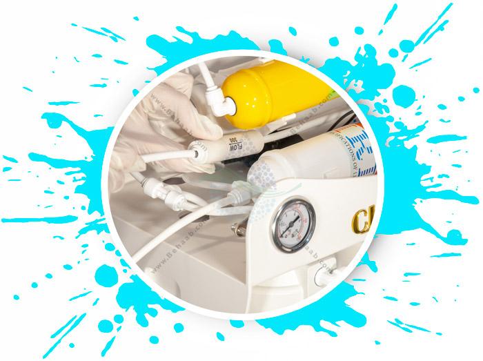 Clean Pure 6 Stage Reverse Osmosis Water Filter System بهترین پیشنهاد برای نصب دستگاه تصفیه آب خانگی6 زیر سینکی مرحله کلین پیور
