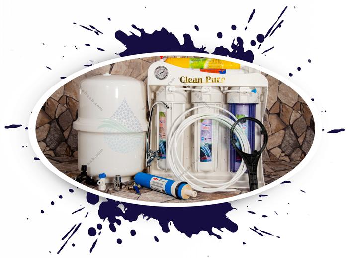 Clean Pure نحوه نصب دستگاه تصفیه آب کلین پیور