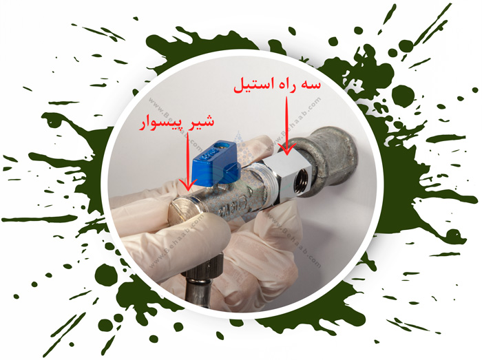 Clean Pure 6 Stage Reverse Osmosis Water Filter System  نصب مرحله به مرحله نصب دستگاه آب شیرین کن کلین پیور