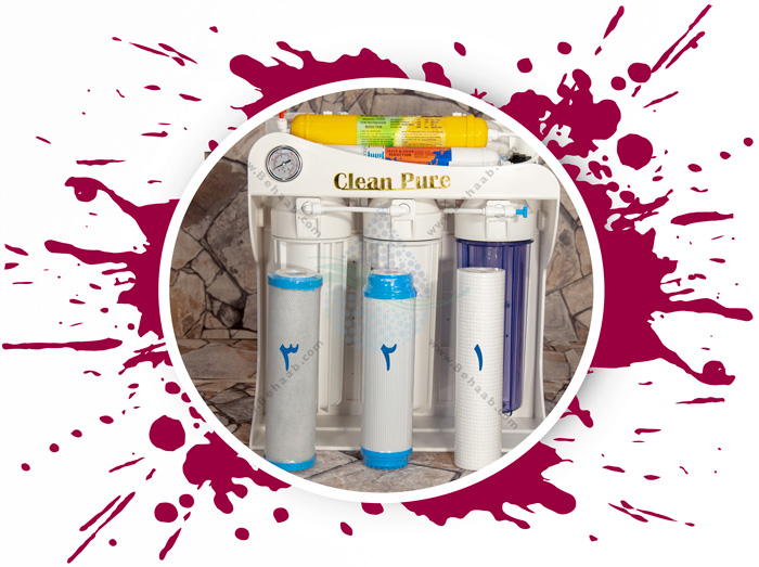 Clean Pure 6 Stage Reverse Osmosis Water Filter System مراحل نصب دستگاه اسمزمعکوس آب کلین پیور