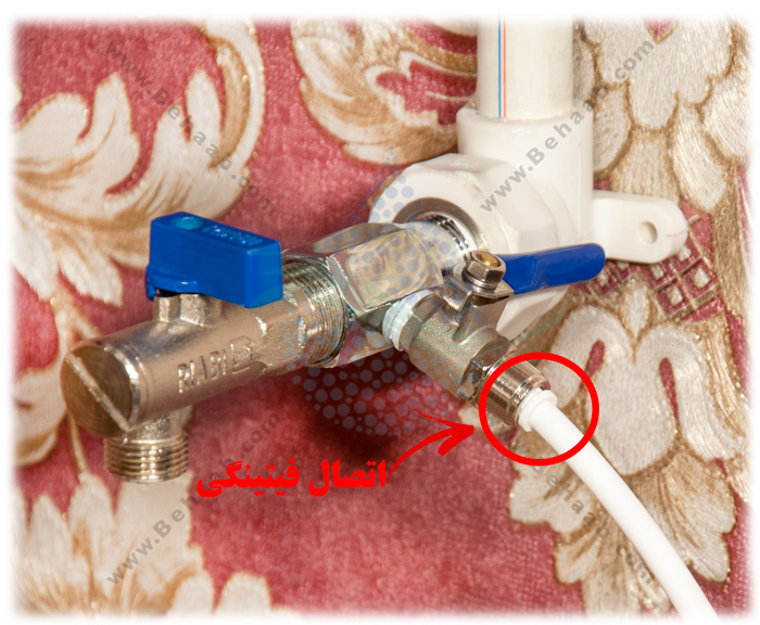 Valve Reverse Osmosis Water Purifierشیر ورودی آب دستگاه تصفیه آب خانگی