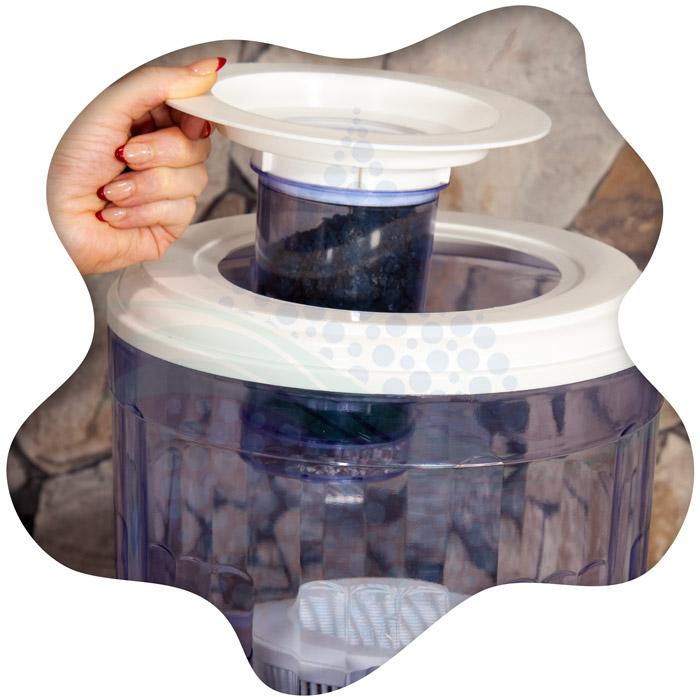 Countertop Water Filtration installation tutorial آموزش تصویری نصب کلمن تصفیه آب