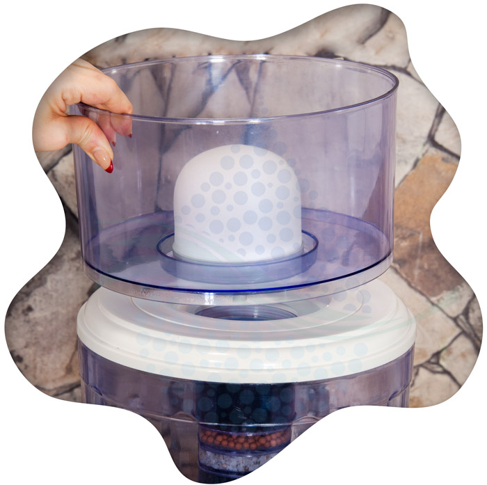 Countertop Water Filtration installation tutorial آموزش تصویری نصب کلمن تصفیه آب رومیزی