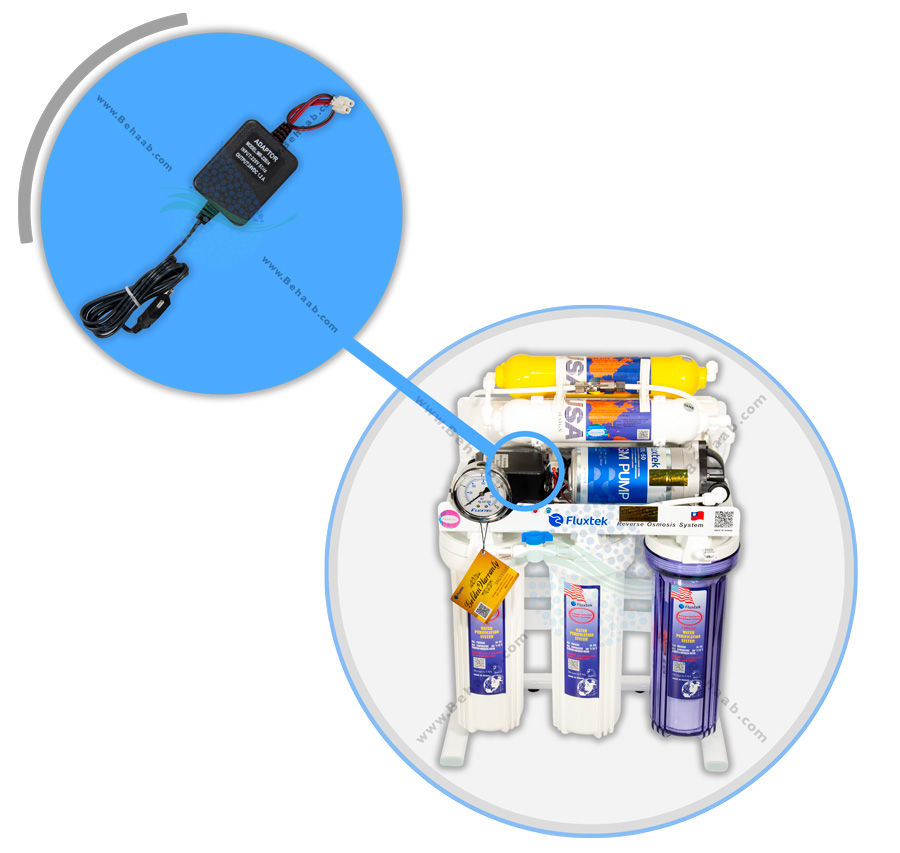 Electrical Connection Of Domestic RO water Purifier  آداپتور یا ترانس برق دستگاه تصفیه آب خانگی