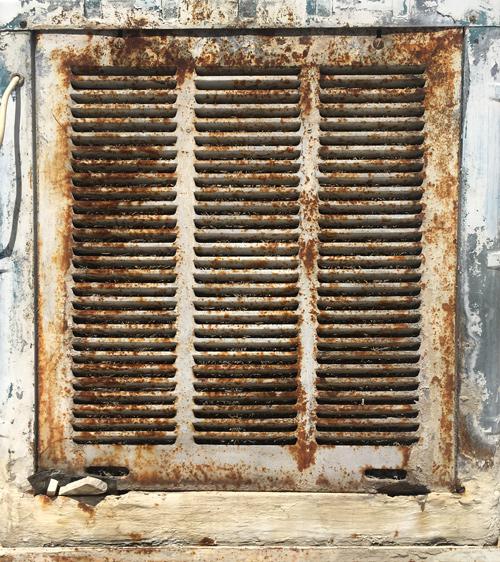 Scaling on Evaporative Cooler شوره در کولر آبی