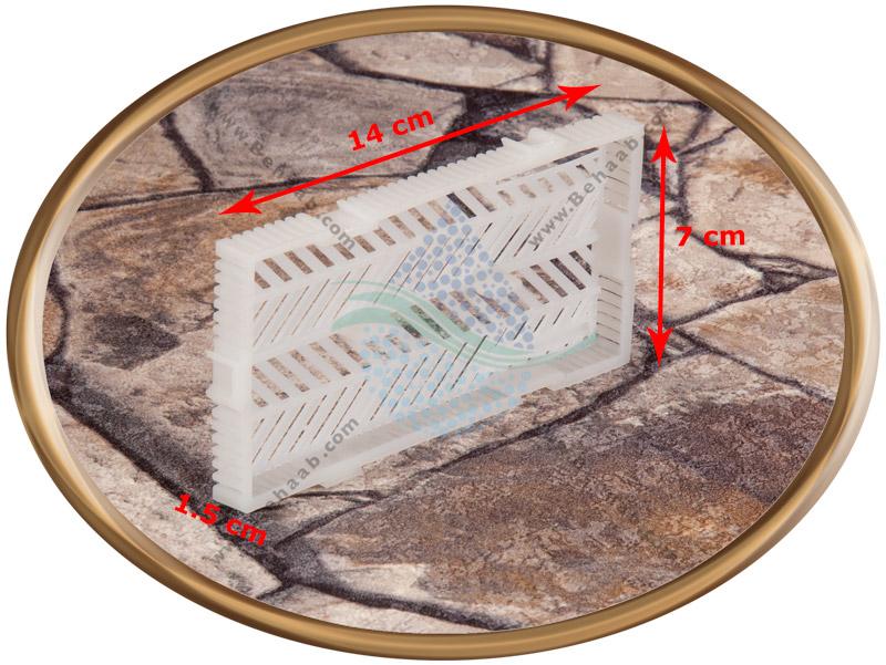ابعاد فیلتر زیر شنی آکواریوم برند بویو