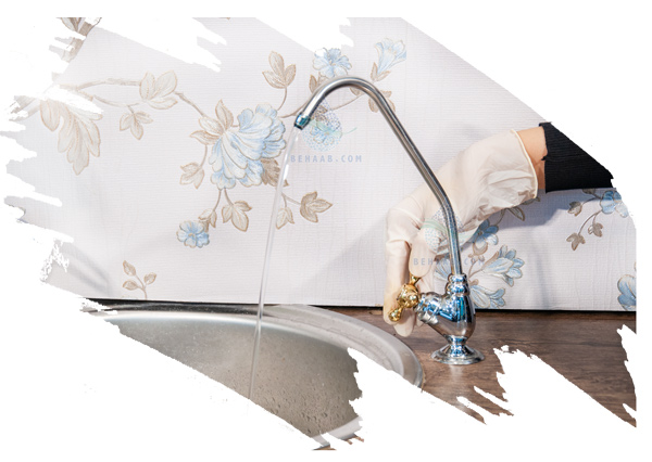 Reverse Osmosis Water Filter Sink Faucet Tap شیر برداشت دستگاه تصفیه آب