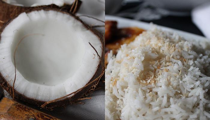 Two-step filtration with coconuts and rice  فیلتر تصفیه آب دو مرحلهای با نارگیل و برنج