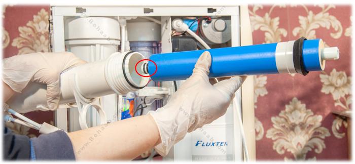 Installing Reverse Osmosis Water Filter System آموزش نصب دستگاه تصفیه آب خانگی ، آموزش نصب فیلتر ممبران تصفیه آب