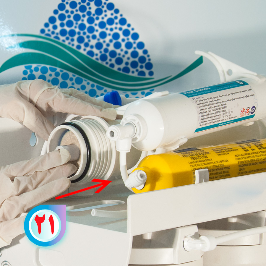 Home Reverse Osmosis Membraneفیلتر ممبران خانگی