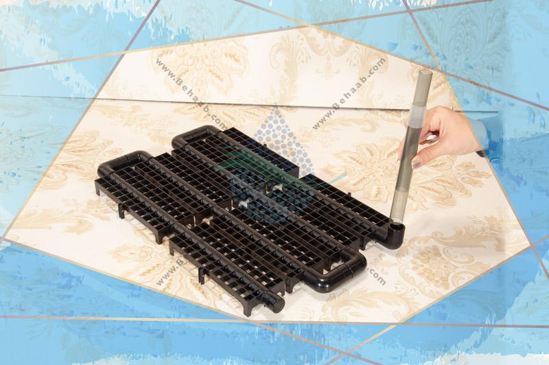 آموزش نصب فیلتر زیر شنی برقی اکواریوم آتمن