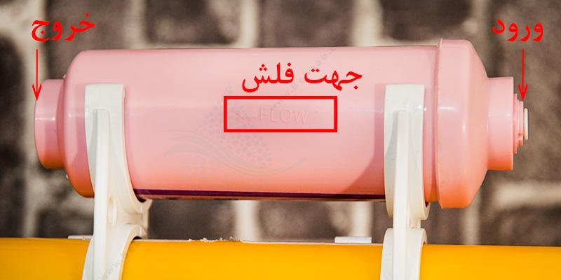 How to Install Membrane Filter Protector to Water Purifier آموزش نصب فیلتر محافظ ممبران تصفیه آب خانگی