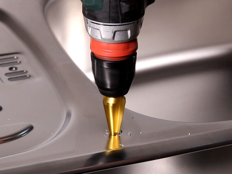 How to Drill Steel To Install a RO Faucet