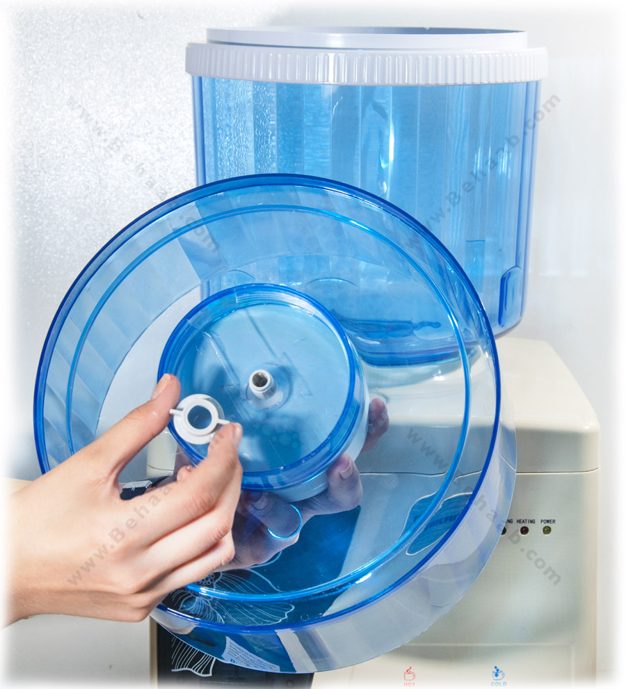 آموزش نصب مخزن آبسردکن تصفیه دار How to Install Water Dispenser Filtration System