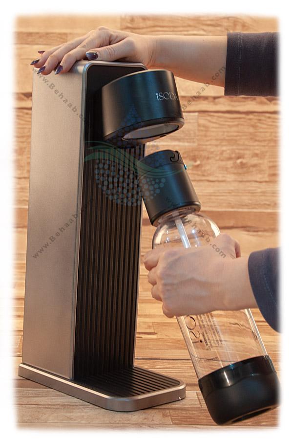 آموزش نصب دستگاه سودا ساز خانگی آی سودا isoda