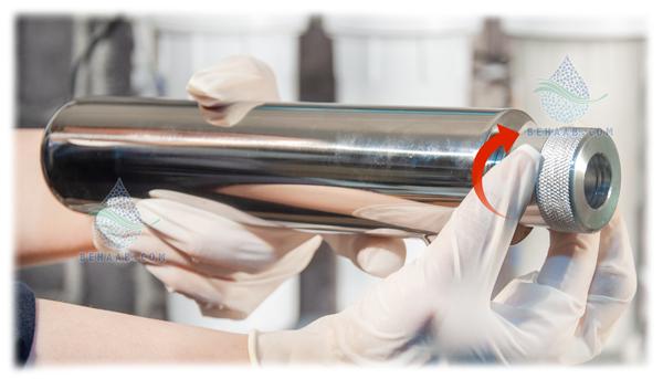 آموزش نصب فیلتر uv تصفیه آب How to install a Ultraviolet Light filter to ro water purifier