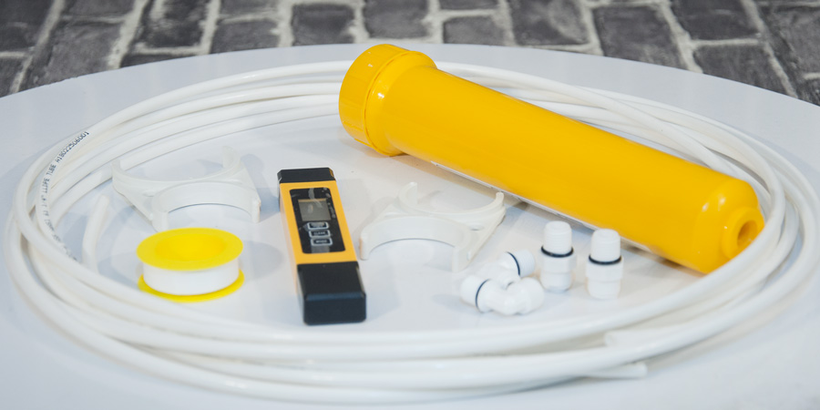 how to install mineral cartridge in ro water purifier آموزش نصب فیلتر مینرال در دستگاه تصفیه آب خانگی