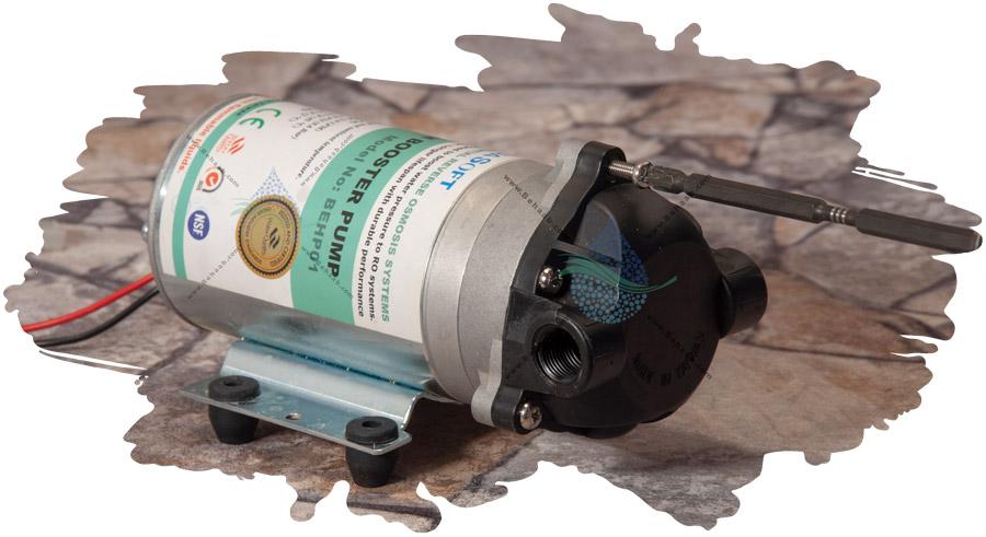 آموزش تعویض و تعمیر پمپ دستگاه تصفیه آب خانگی به علت ریزش آب از آن