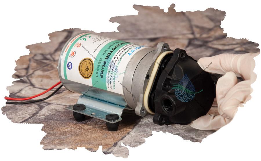 آموزش تعویض دیافراگم کلگی موتور تصفیه آب