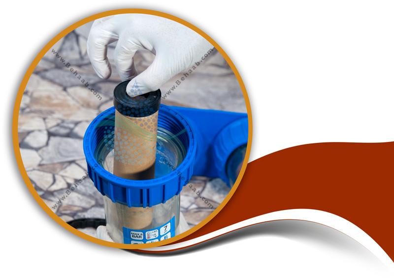 How to maintain the water cooler scale with resin filter and ceramic filterآموزش تمییز کردن فیلتر سرامیک در پیش تصفیه آب