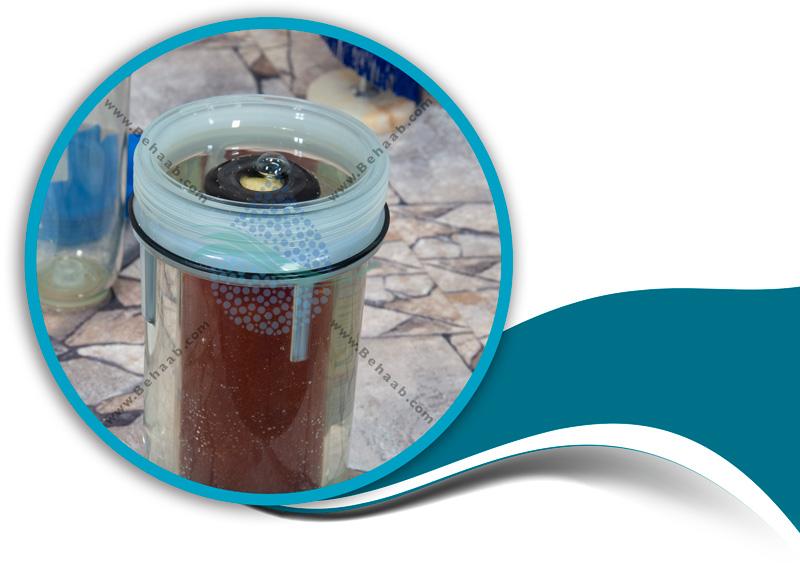 How to maintain the water cooler scale with resin filter and ceramic filterآمو زش نگهداری از فیلتر رزین و فیلتر سرامیک پیش تصفیه آب