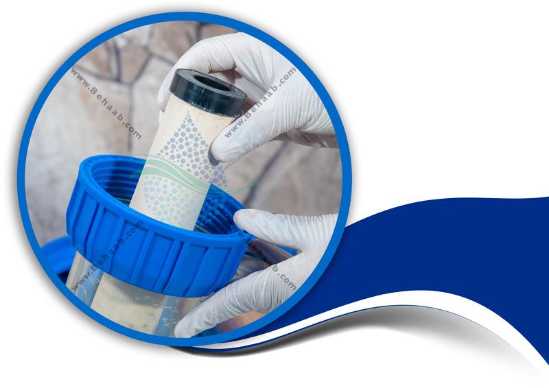 How to maintain the water cooler scale with resin filter and ceramic filterآموزش نگهداری رسوبگیر کولر آبی با فیلتر رزین و فیلتر سرامیک تصفیه آب