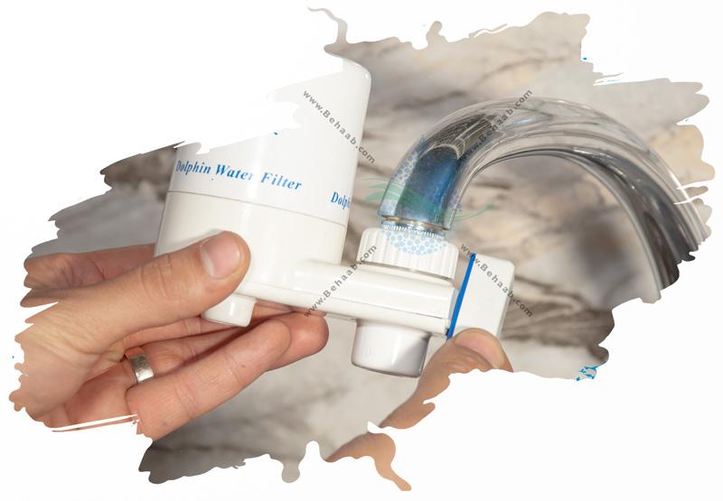 How to replace Faucet Mount Water Filter راهنمای  تعویض فیلتر تصفیه آب سرشیری
