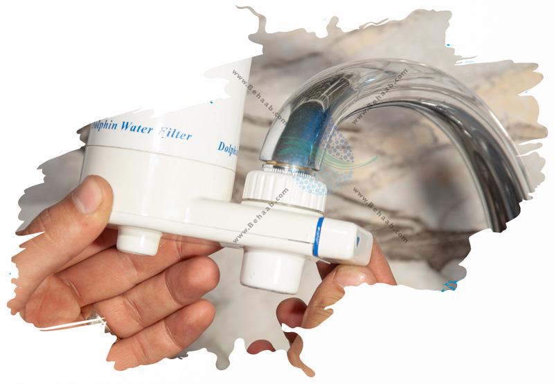How to replace Faucet Mount Water Filter طریقه تعویض فیلتر تصفیه کننده آب سرشیری