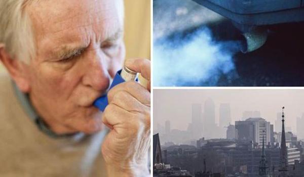 Air pollutants creats asthma آلاینده های موجود در هوا و آسم
