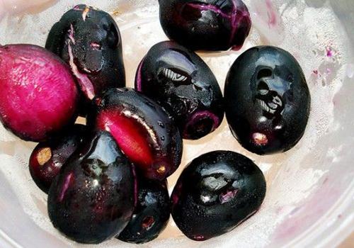 تصفیه آب با دانه آلو جاوا  Java plum seed purification