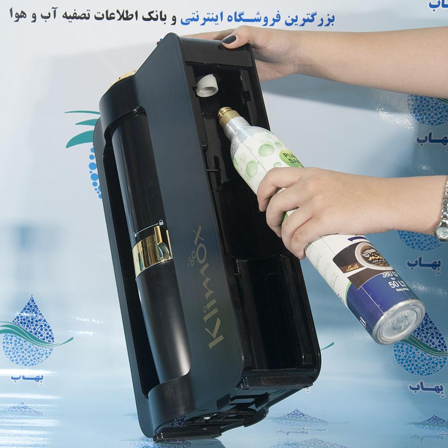 KLIMOX soda maker user manual راهنمای استفاده از سودا ساز کلایموکس