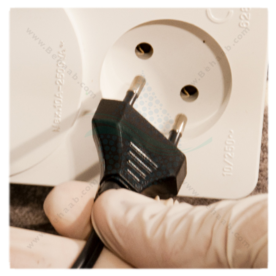 Power outlet  قطع کردن برق دستگاه تصفیه آب