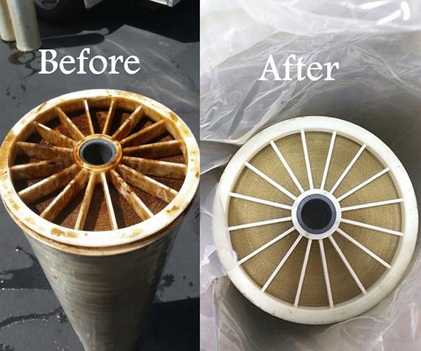 شستشوی فیلتر ممبران صنعتی RO Membrane Cleaning