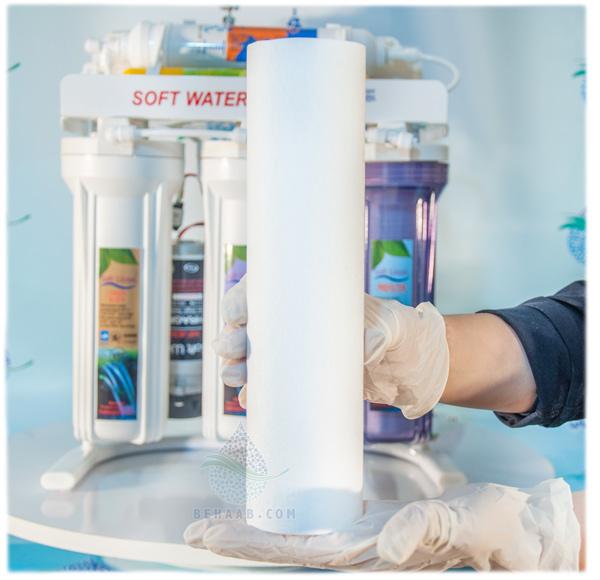 Replacement of sediment filter cartridge  نحوه تعویض فیلتر مرحله اول دستگاه تصفیه آب خانگی