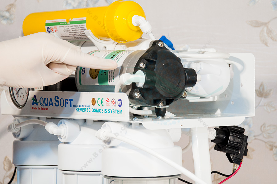 Reverse Osmosis Booster Pump پمپ دستگاه تصفیه آب اسمز معکوس