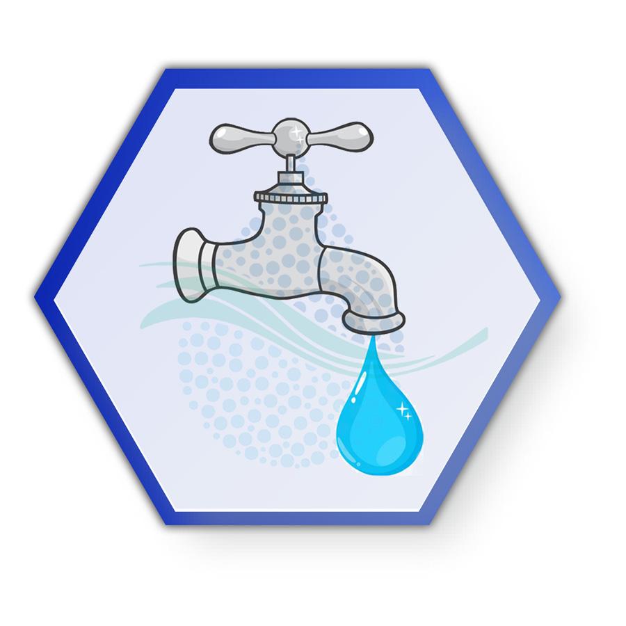 Reverse Osmosis Flow Restrictor Water Pureferنقش محدود کننده جریان فاضلاب دستگاه تصفیه آب خانگی