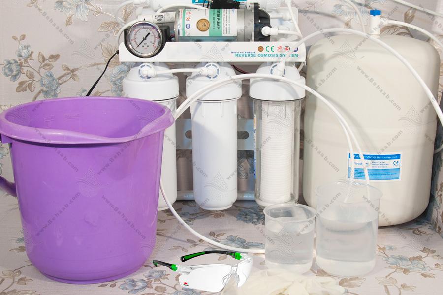 Reverse Osmosis Storage Tank Cleaning Tools  آموزش نحوه ضد عفونی کردن مخزن تصفیه آب اسمز معکوس