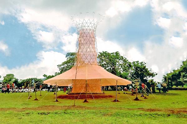 تصفیه آب با برج آب وارکا  The Warka Water Tower