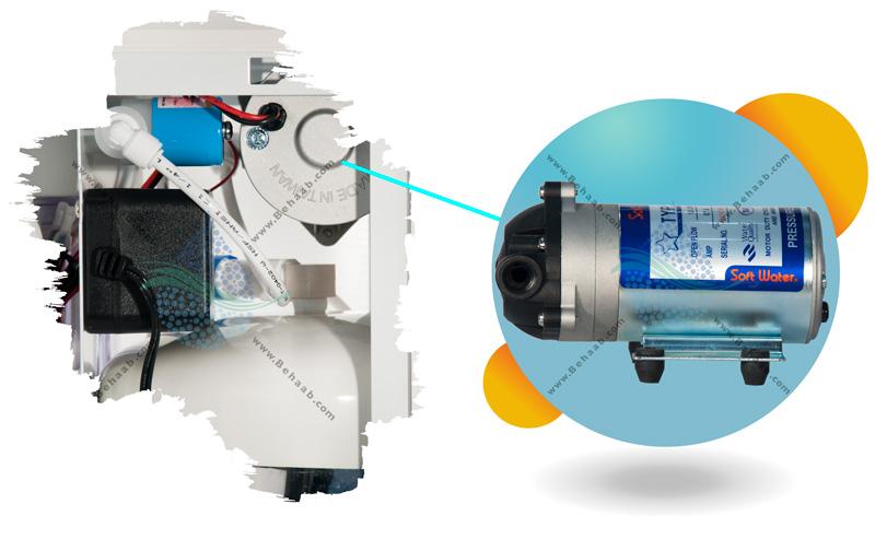 آب تصفیه کن سافت واتر  SoftWater RO Water Purification System