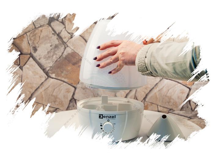 Ultrasonic Humidifier Kenzel آموزش استفاده از دستگاه بخور سرد کنزل