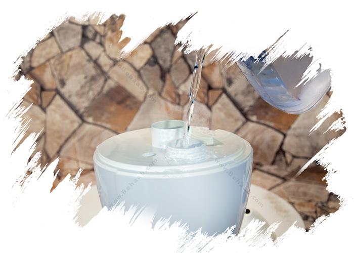 Ultrasonic Humidifier Kenzel طریقه استفاده از دستگاه بخور کنزل